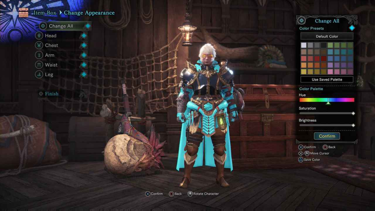 Monster Hunter World: How to Change Armor Color (Pigment)