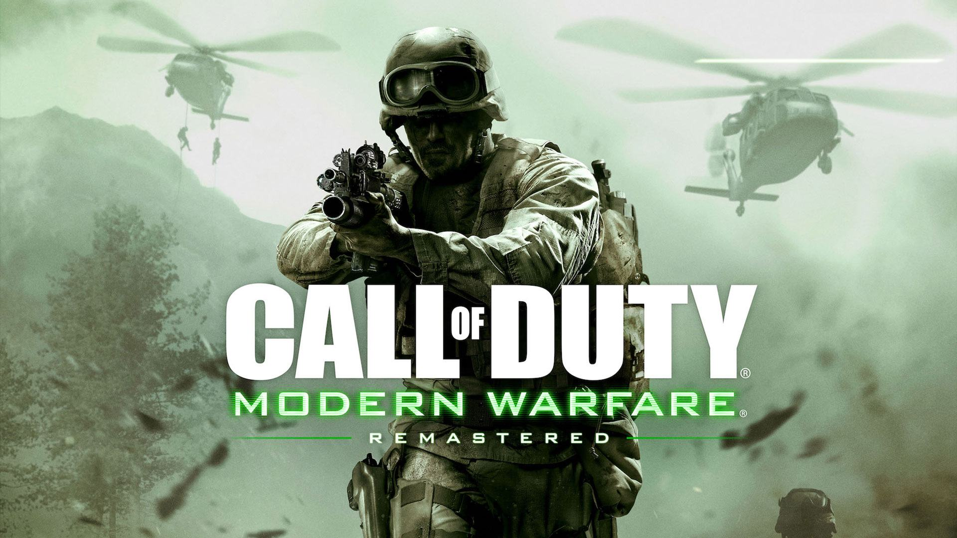 Call of Duty Modern Warfare Remastered - All Weapon