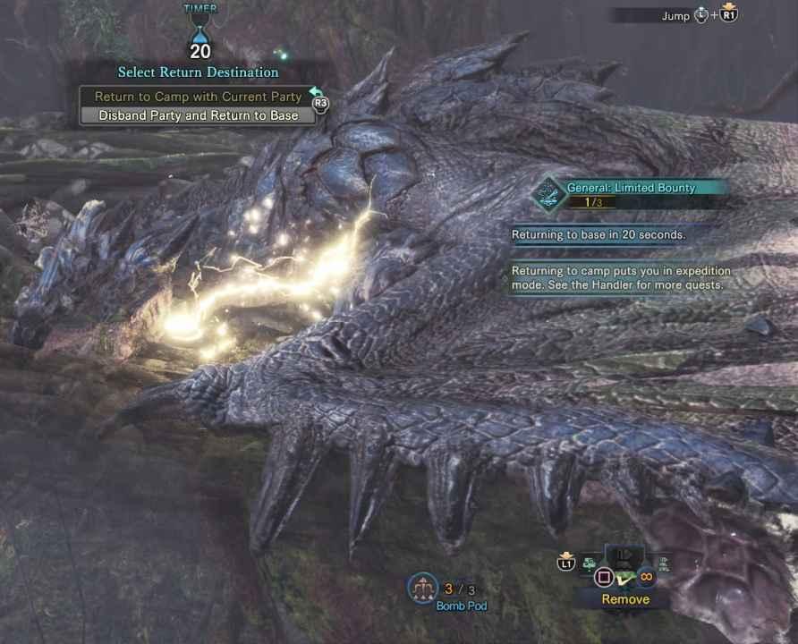 Monster Hunter World: Azure Rathalos (Large Monster)