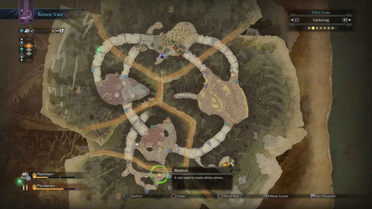 Monster Hunter World: Blastnut Location