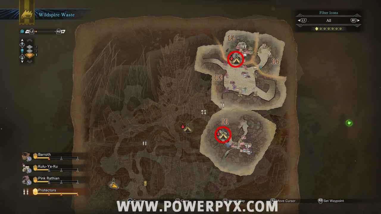 f348c240c8e97e Monster Hunter World  All Camp Locations