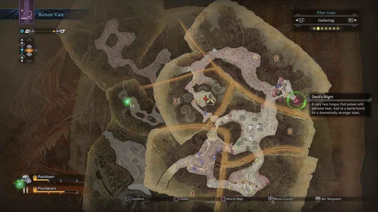 Monster Hunter World: Devil's Blight Location