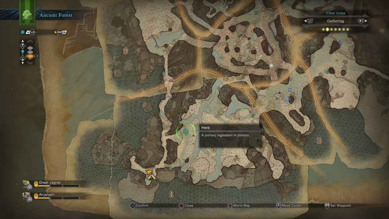 Monster hunter world herb location crafting item sciox Image collections