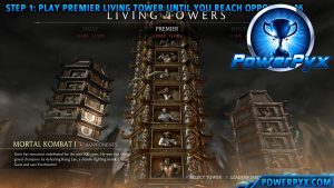 Mortal Kombat X – Secret Fight in Living Towers (Keep it Secret Trophy / Achievement)