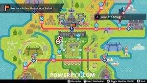 Pokemon Sword & Shield - Ice Stone Location