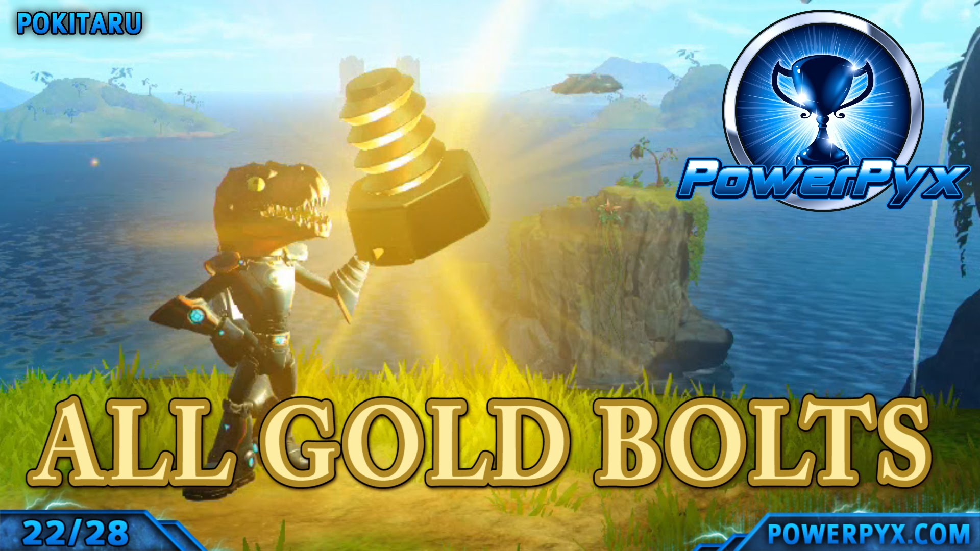 Ratchet Clank 2016 Ps4 Remake All Gold Bolt Locations Powerpyx