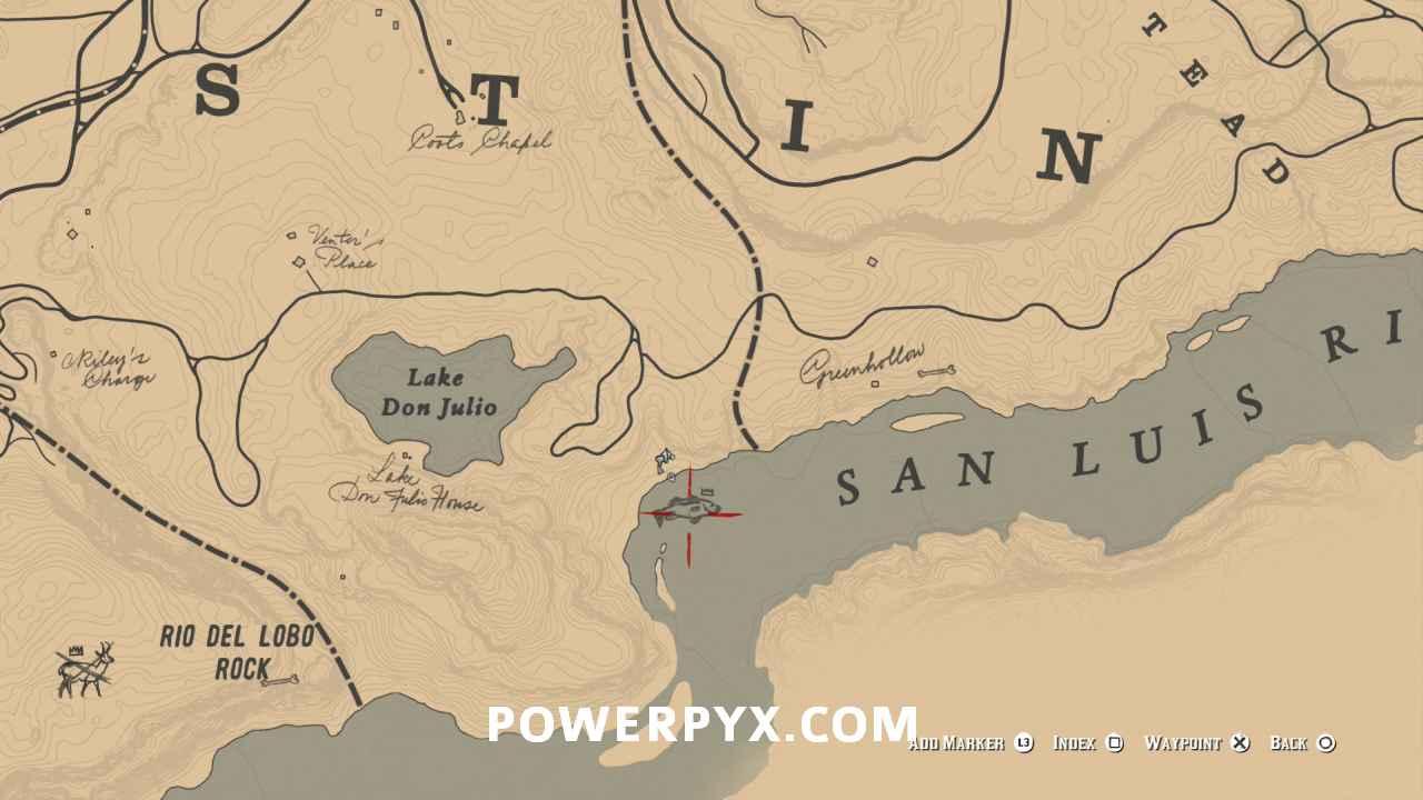 Segredos de Red Dead Redemption 2: pescando os peixes lendários 16