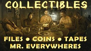 Resident Evil 7 All Collectible Locations Guide (Antique Coins, Files, Mr. Everywheres, Videotapes)