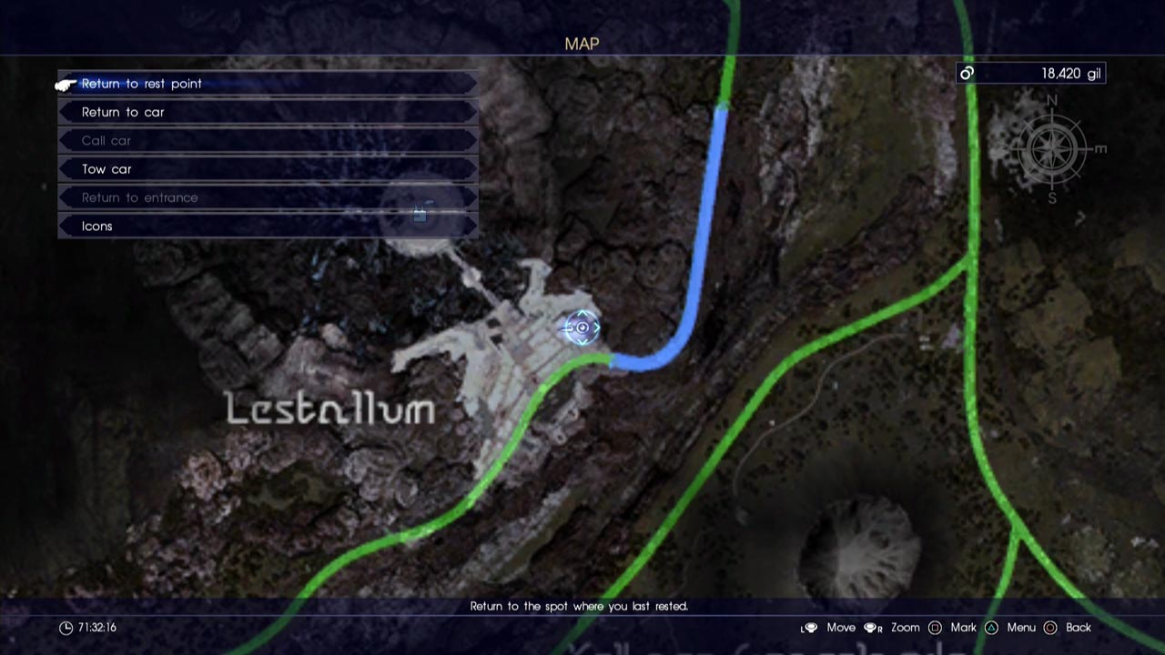Final Fantasy XV - All Dungeon Locations