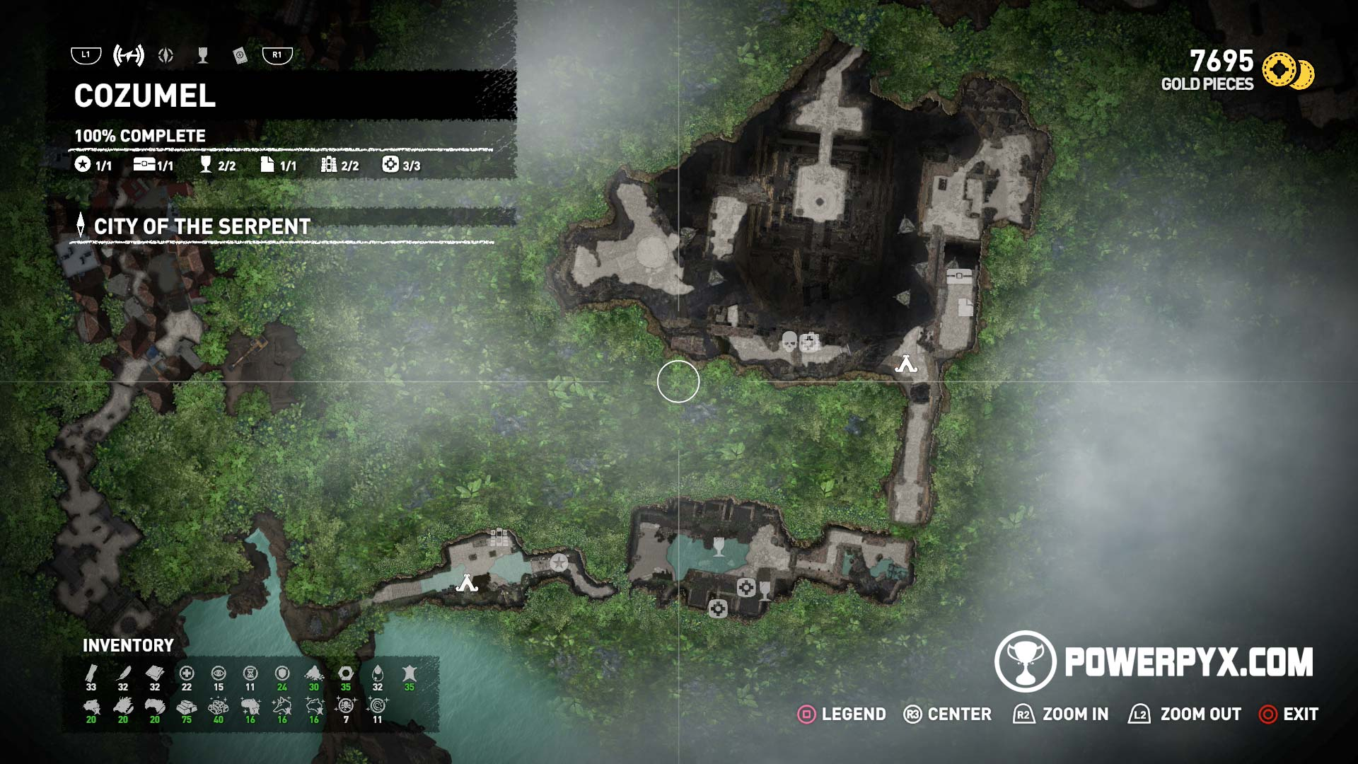 Shadow Of The Tomb Raider Collectible Locations 100 Maps