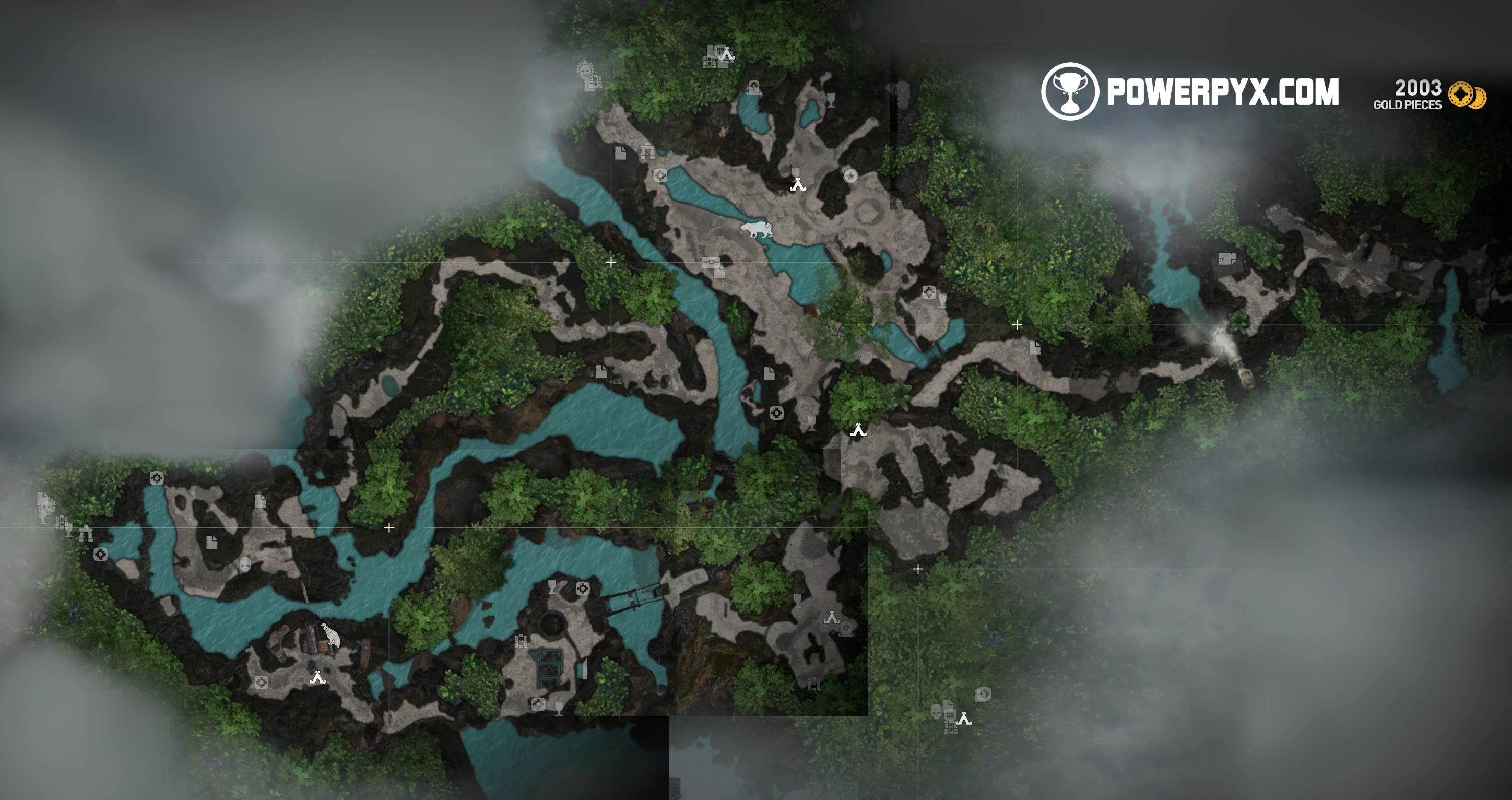 Shadow of the Tomb Raider Collectible Locations Maps