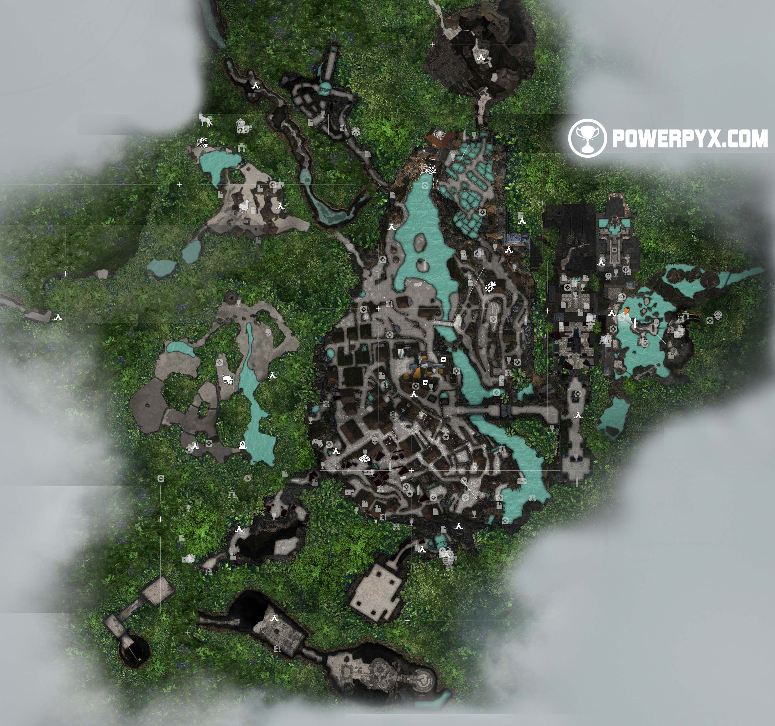 Shadow of the Tomb Raider Collectible Locations (100% Maps) on