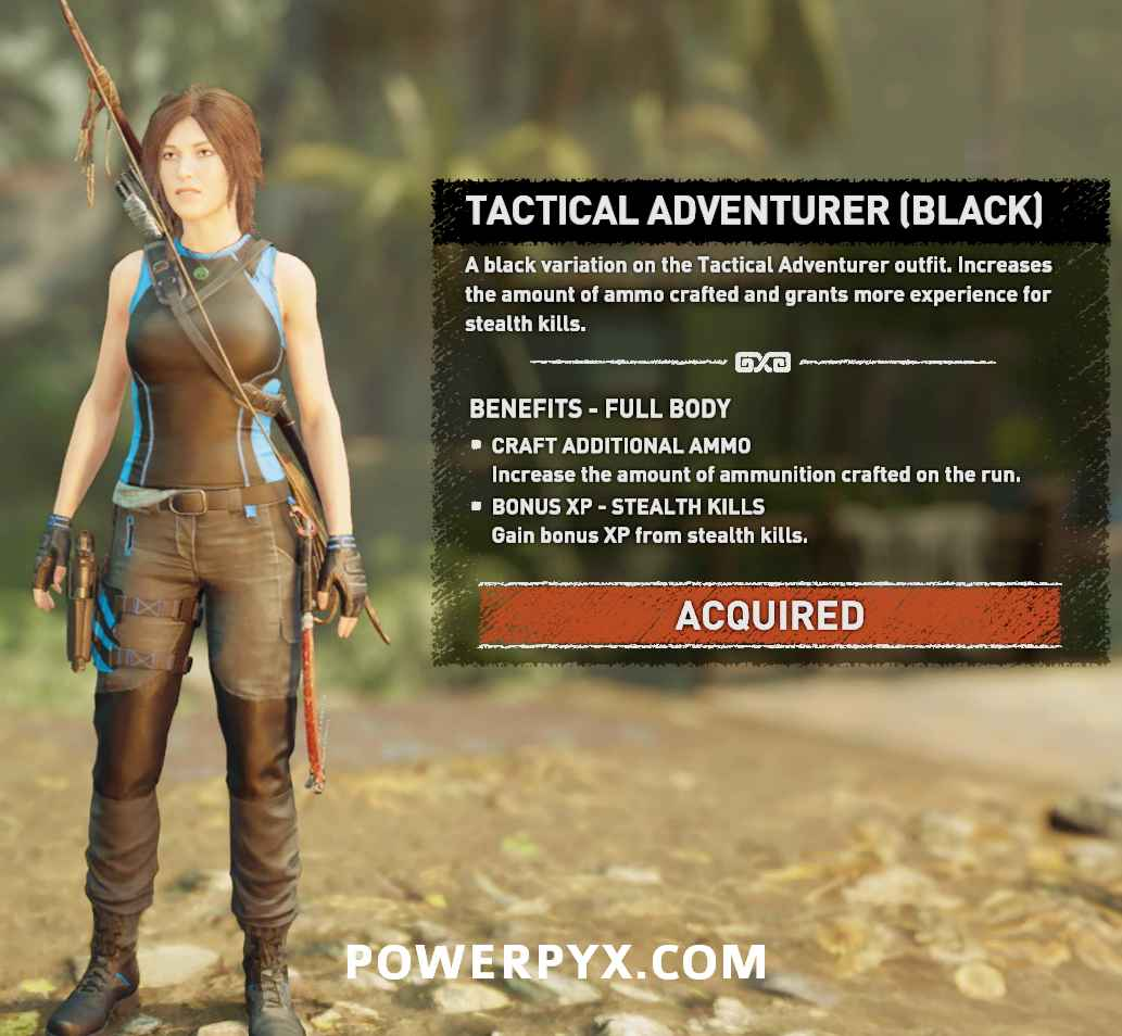 Shadow of the Tomb Raider All Outfits, Armor, Costumes Showcase