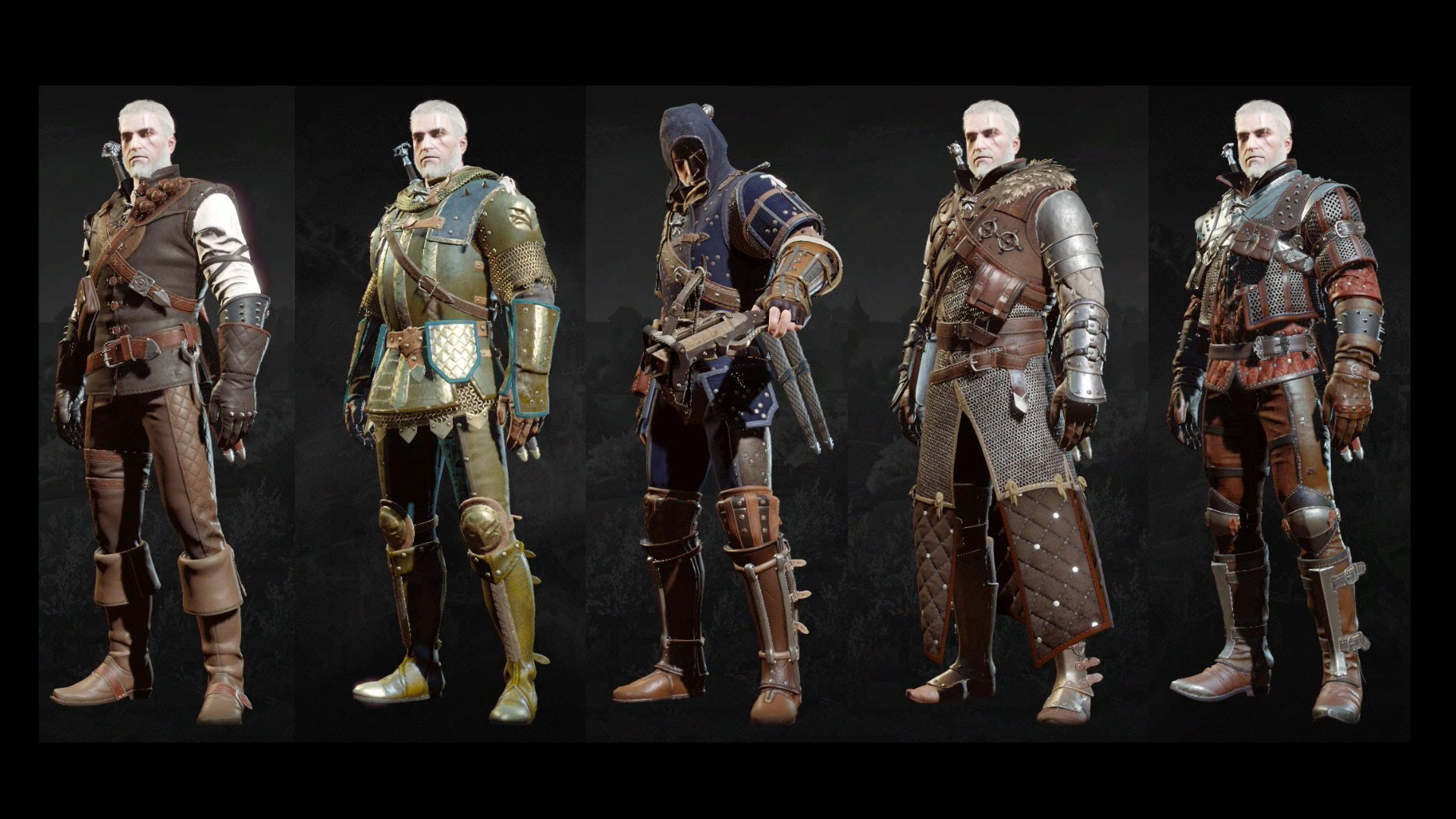 witcher 3 armor sets the witcher 3 all grandmaster witcher ... - photo#47
