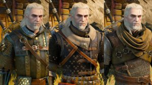 The Witcher 3 Wild Hunt – What All Witcher Sets Look Like (Showcase)