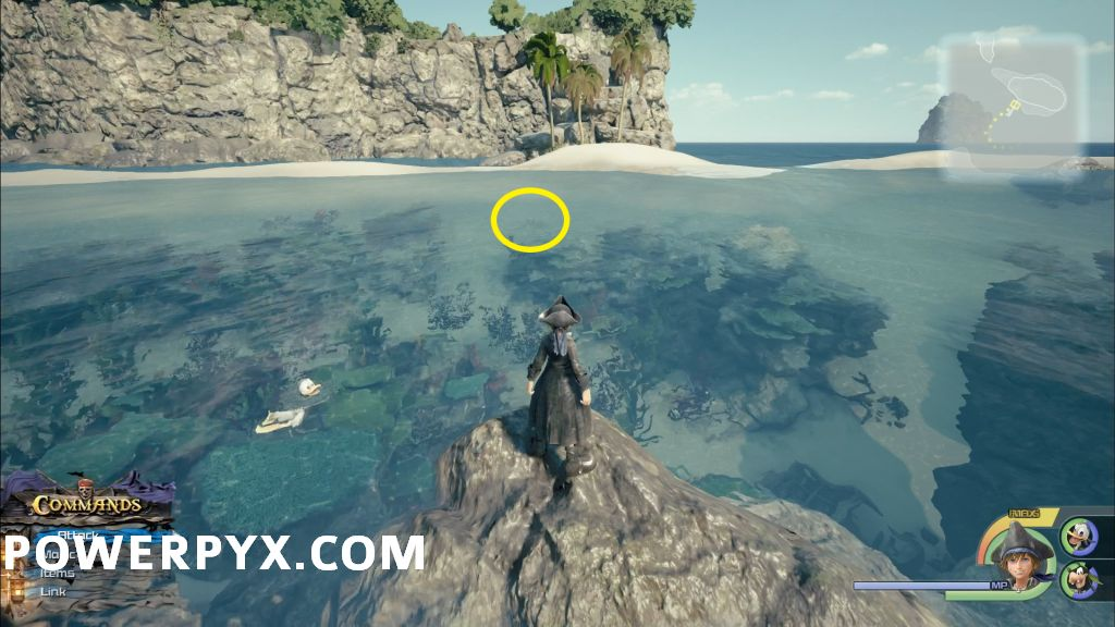 Kingdom Hearts 3 The Caribbean Collectible Locations (Treasures